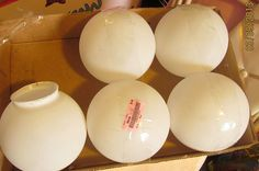 garden globes, crafts, mason jars, I found these lighting globes at the Goodwill for half off