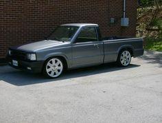 Mini truck mazda b2200