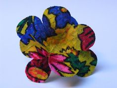 Flexible Fabric Orchid Adjustable Ring - $15 - One-of-a-kind fabric ring, specially made so you can bend each petal to create a different flower every time! appr. 7.5 cm diameter. Ring size adjustable Different Flowers, Adjustable Ring, Orchids, Create, Unique Jewelry, Handmade Gifts, Rings, Fabric, Etsy