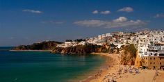 he former fishing village of Albufeira has expanded dramatically without losing its charm. Algarve, Portugal