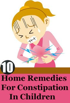 Top 10 Home Remedies For Constipation In Children