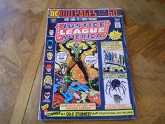 Justice League 112, (1974), 100 Page Issue, Amazo App., Origin Starman, DC Comics by HeroesRealm on Etsy