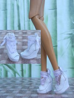 """Zhang_young Shoes for 12"""" Fashion Royalty,Silkstone/ Barbie doll(17-12S-13)"""