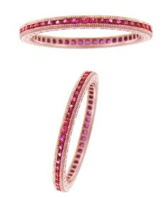 rose gold pink sapphire