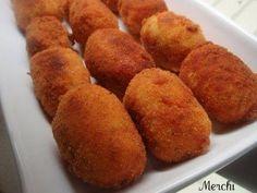 Con sabor a canela: Croquetas de palitos de cangrejo y gambas