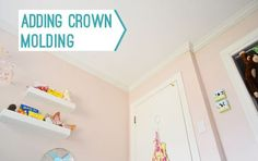 How to add crown molding (tips, tools that make it easier, cost breakdown, etc)