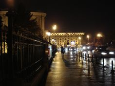Calea Victoriei V Night Time, Places To Visit, Victoria, Bucharest
