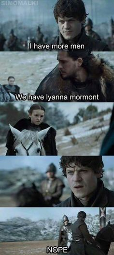 Lyanna should be feared more than the Night King himself