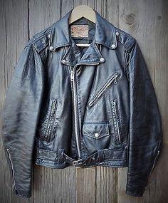Listed on eBay week of 12/22/14 starting price $9.99.Original-1950s-Black-Motorcycle-Jacket-Excelled-Rebel-Rockabilly-size-34-S-M-NR