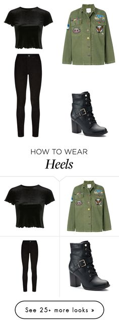 """""""Untitled #235"""" by ej0337005 on Polyvore featuring Mira Mikati, Apt. 9, Paige Denim and Topshop"""