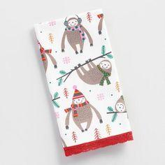 Sloth Kitchen Towel, I need this!