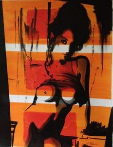Artprice Auktionslos : Romance. 70x90cm.#57/7 [Eka PERADZE]