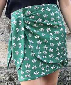 Comment coudre une jupe portefeuille ? Tuto couture