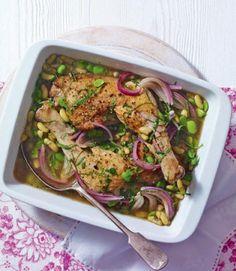 Chicken-and-bean-summer-stew-recipe