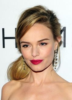 Date-Night Makeup Idea: Make Your Lips Look Extra-Smoochable Like Kate Bosworth's (You Can Even Use Her Exact Lip Shade!)