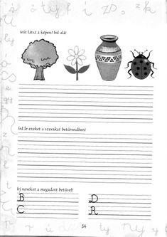 Írott betűk - kisferenc.qwqw.hu Grammar, Literature, Teacher, Album, Education, School, Erika, Pdf, Animals