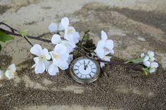 Relógio De Bolso, Tempo De, Areia, Mapa Do Mundo, Tempo
