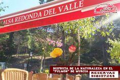 """Ven a La Balsa Redonda y disfruta de la naturaleza murciana. Degusta nuestros famosos aperitivos y purifícate en el """"pulmón"""" de Murcia. reservas 968607244"""
