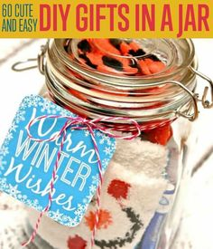 DIY Projects for the Home and Teens! 60 Cute and Easy DIY Gifts in a Jar
