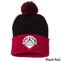 931ae750819 Black Pyramid SP15 Sportsman Pom Pom Knit Cap