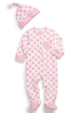 8e22f936804cf Offspring Hat  amp  Footie Set (Infant) available at  Nordstrom Coming Home  Outfit