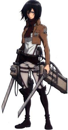 Mikasa Ackerman - Attack on Titan - Mobile Wallpaper - Zerochan Anime Image Board Mikasa, Attack On Titan Tattoo, Attack On Titan Anime, Me Anime, Manga Anime, Snk Cosplay, Aot Characters, Fictional Characters, Rivamika