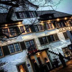 Restaurant Alte Krone - #architecture #building #architexture #buildings #town #street #swiss #architecturelovers #switzerland #stäfa #instagood #beautiful #archilovers #architectureporn  #style #archidaily