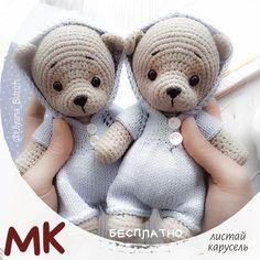 How To Crochet an Amigurumi Rabbit Crochet Baby Hats Free Pattern, Crochet Teddy Bear Pattern, Crochet Kids Hats, Crochet Animal Patterns, Kids Patterns, Crochet Bear, Crochet Patterns Amigurumi, Amigurumi Doll, Crochet Dolls