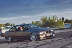 bmw e36, swap m54b30, bbs 8/9, antracite matte mettalic. Wrapped by stance.lv