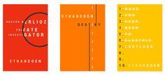 Ethan Coen Series by Miguel Yatco (SVA), via Behance