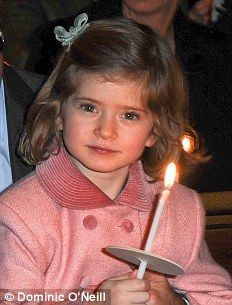Lady Cosmia Windsor, daughter of the Earl of Ulster, Granddaughter of HRH The Duke of Gloucester