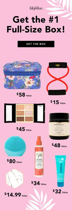The #1 subscription box you need this year is FabFitFun! Get $200+ of full-size makeup, fashion, fitness, & wellness goodies for only $39.99 with code BRIGHT