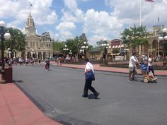 Main Street no Disney World