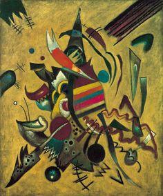 Vassily Kandinsky - Punkte - Der Rhythmus