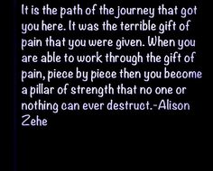lisa weimer | Pillar of Strength | - QUOTES & INSPIRATION -