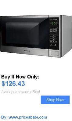 Major Appliances: Panasonic 1.3 Cu. Ft. 1100W Built-In/Countertop Microwave Oven - Stainless Steel BUY IT NOW ONLY: $126.43 #priceabateMajorAppliances OR #priceabate