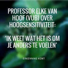 Onderzoek naar hoogsensitiviteit - Elke Van Hoof (VUB)