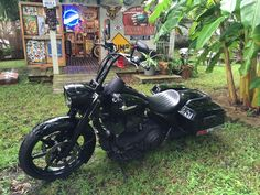 club style road king, new bars-new attitude! - Harley Davidson Forums