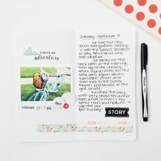 September 13 journal travelers notebook by hopscotchlane at @studio_calico