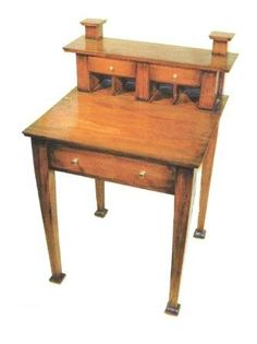 AH Mackmurdo Arts & Crafts Movement style furniture