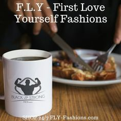 FLY Fashions is meant to be an eye-catching and trendy representation of personal style. graphic tees are always in season. Cute Mugs, Tshirts Online, Funny Tshirts, First Love, Love You, Strong, T Shirts For Women, Kitchen, Shopping