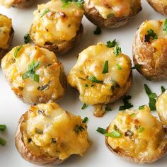 Twice-Baked New Potatoes / BHG | Sign me up for these please!