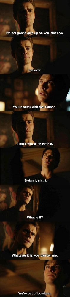 The Vampire Diaries TVD 7X11 - Damon and Stefan