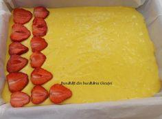 Prajitura cu capsuni si bezea - Bunătăți din bucătăria Gicuței Cheesecake, Deserts, Recipes, Sweets, Plant, Cheesecakes, Recipies, Postres, Ripped Recipes