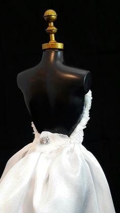 Wedding Dress  #dress #doll #vestido #boneca #barbie #wedding #white #bride
