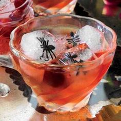 Halloween Cocktail Recipes. After the kids are wiped from a full night of trick-or-treating and loading up on all their Halloween candy, get your drink on and shake up a few of these delicious cocktails.