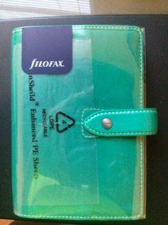Brand New Aqua Malden Personal Size Filofax | eBay