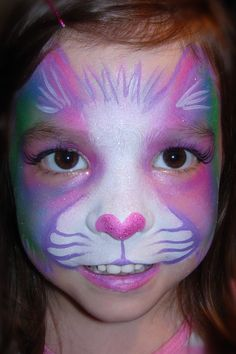 Rainbow Kitty- Smiley Faces by Jo