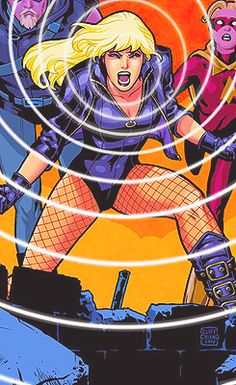 Black Canary - My favorite superhero  prob the best representation of bc ever except for maybe just some kicking ass