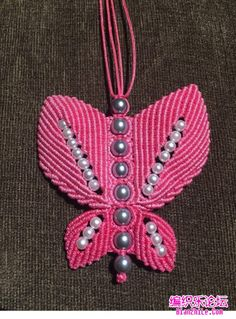 点击查看原图 Free Macrame Patterns, Beaded Necklace Patterns, Washer Necklace, Brooch, Diy, Bracelet, Crafts, Jewelry, Ideas
